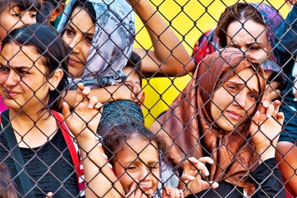 Flüchtlinge frauen 150923