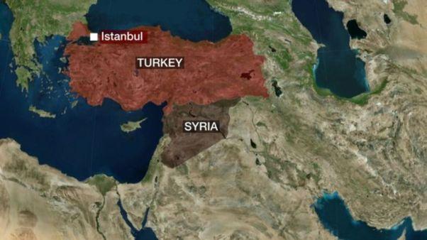 Türkei Syrien BBC Grenze 160206