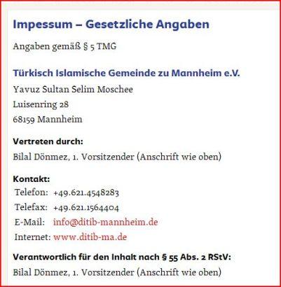 Yavut Selim Moschee Mannheim 160306