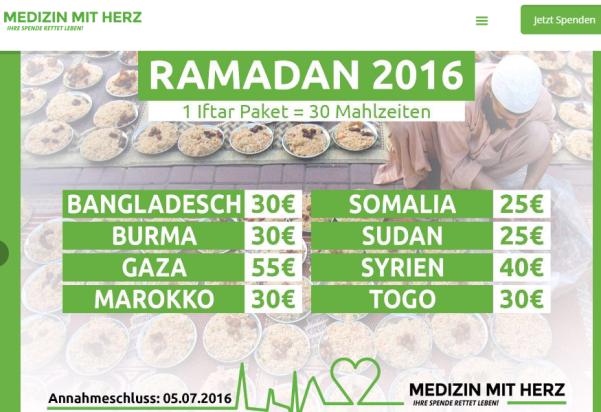 Medizin mit Herz Projekte 160617