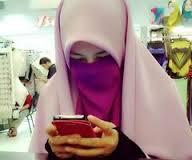 Pink Niqab 160608