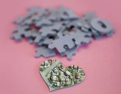 Puzzle Stadt 160608 Herz