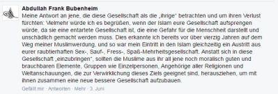 Bubenheim Zitat 160729