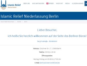 Islamic relief berlin Inssan 160711