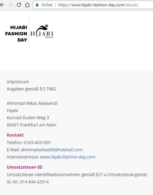 Hijabi Fashion Day Frankfurt