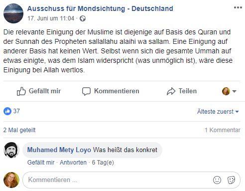 Muslime weibliche Datierung