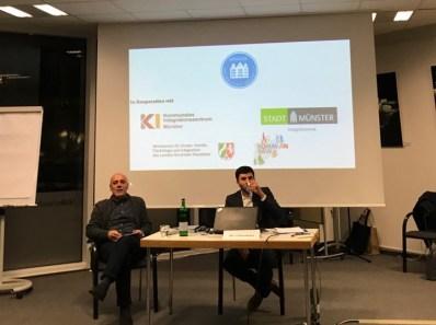 """Belegbild: Veranstaltung im Rahmen der """"Wochen gegen Rassismus"""", Münter 2018, private Aufnahme"""